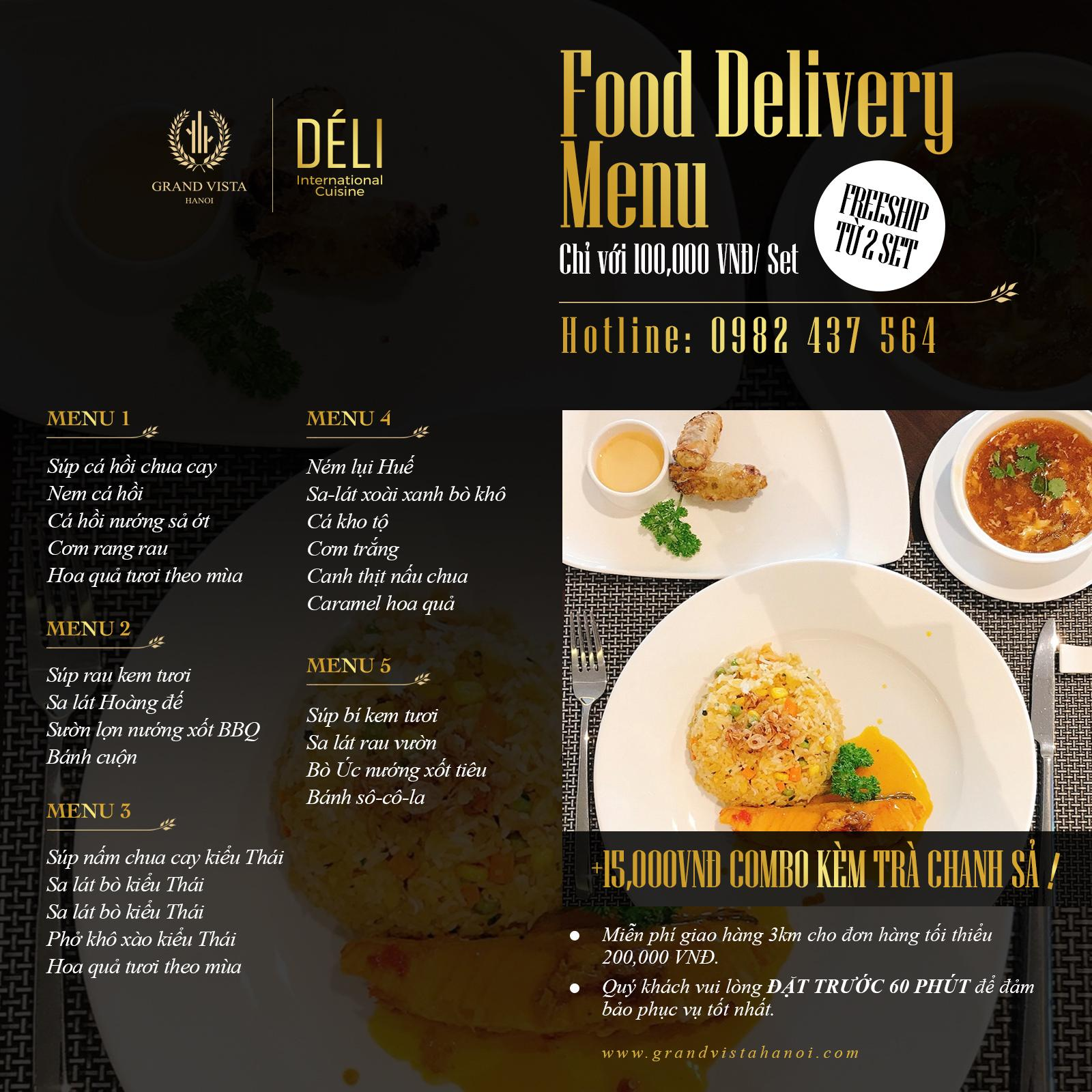 Food Delivery by Déli